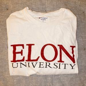 Elon University champion long sleeve tshirt